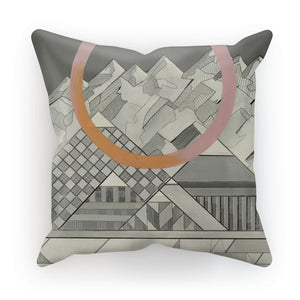 Geometry's Mountain Cushion