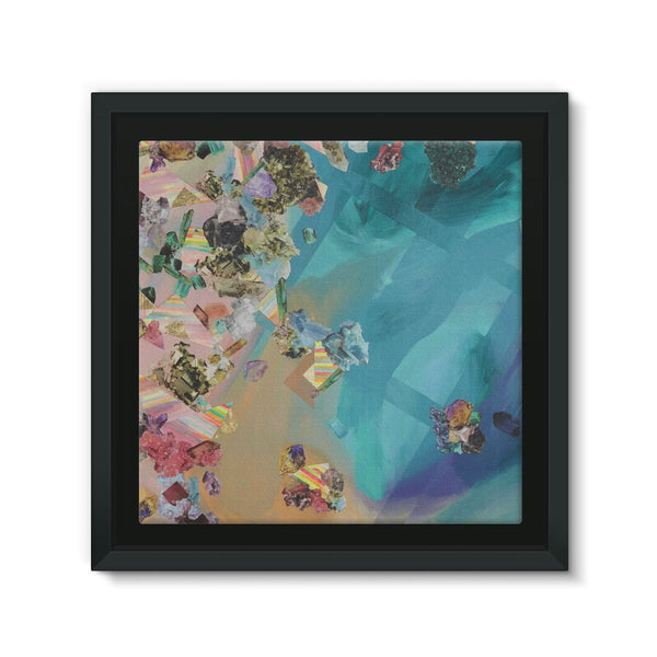 Mineral Icecream Framed Canvas