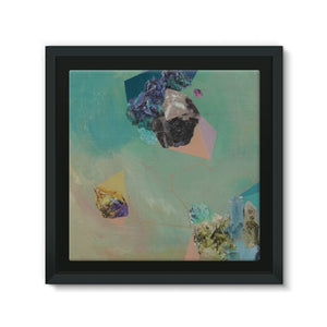 Mineral Leo Framed Canvas