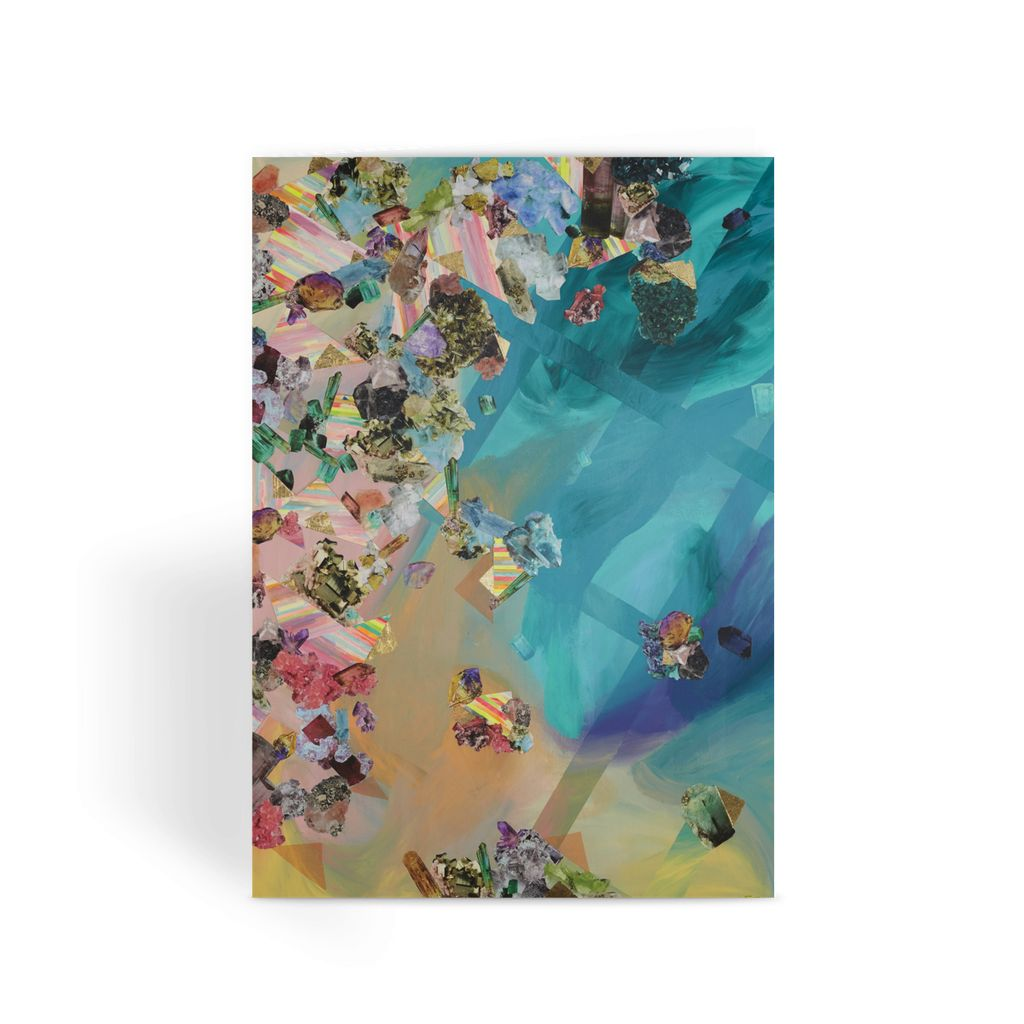 Mineral Icecream Greeting Card