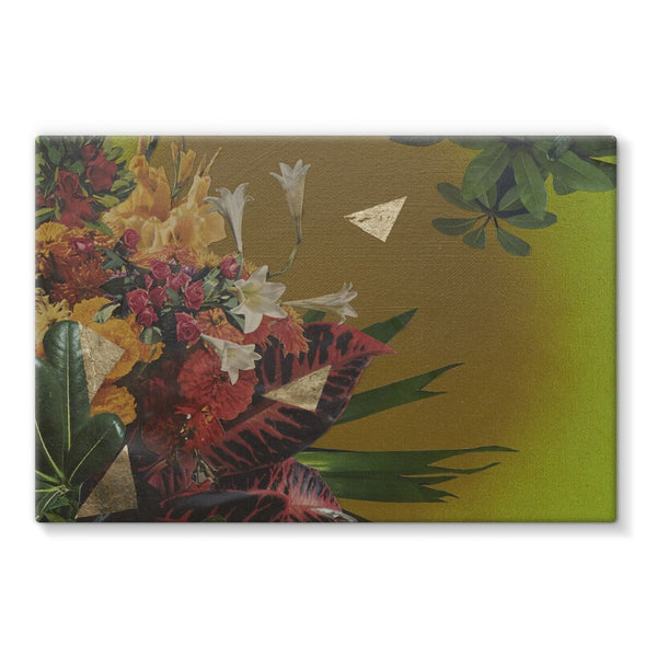 Jungle Gold Stretched Canvas
