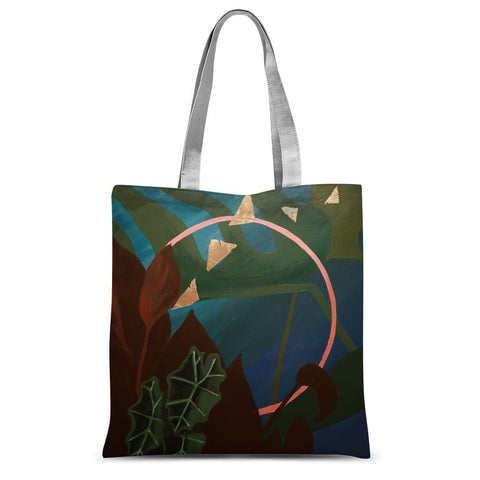 The Depths  Sublimation Tote Bag