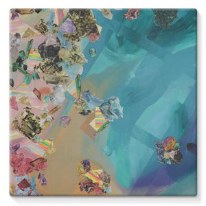 Mineral Icecream Stretched Canvas