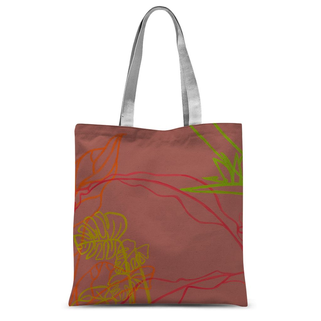 Paradise Drift Sublimation Tote Bag