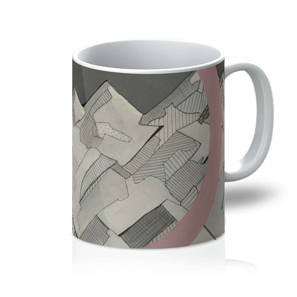 Geometry's Mountain Mug