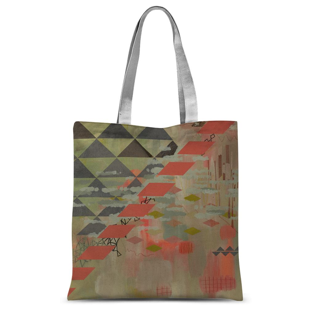 Waiting Sublimation Tote Bag