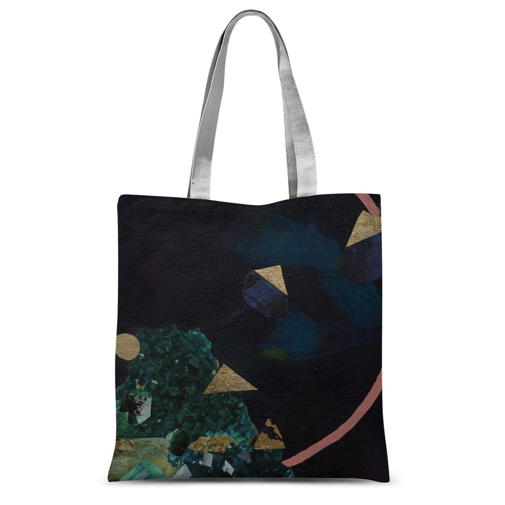 Indigo Found Sublimation Tote Bag