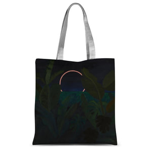 Jungle Eclipse Sublimation Tote Bag