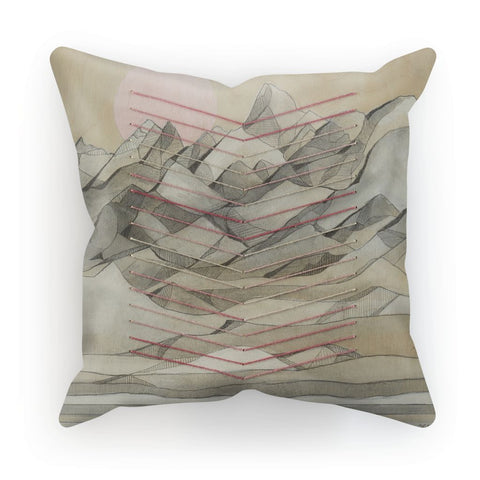 Chevron Mountain Cushion