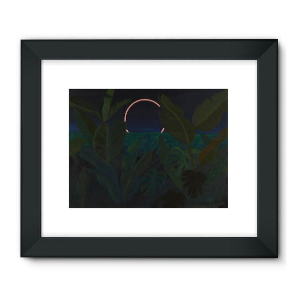 Jungle Eclipse Framed Fine Art Print