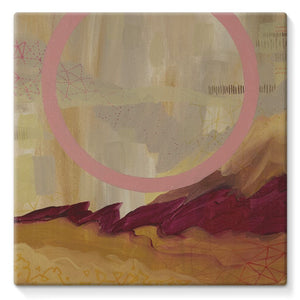 Desert Found Stretched Canvas
