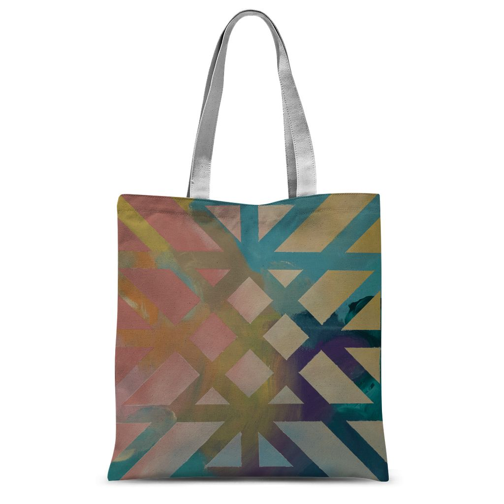 Kaleidoscope Sublimation Tote Bag