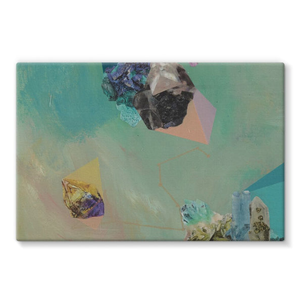 Mineral Leo Stretched Canvas