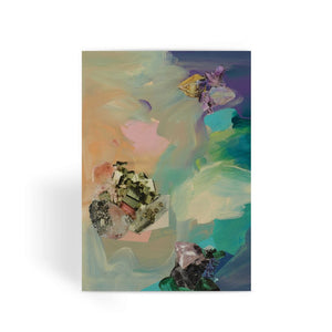 Mineral Meteor Greeting Card