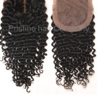 "Malaysian -18"" 20"" 22""-Closure + Frontal - CURLY"