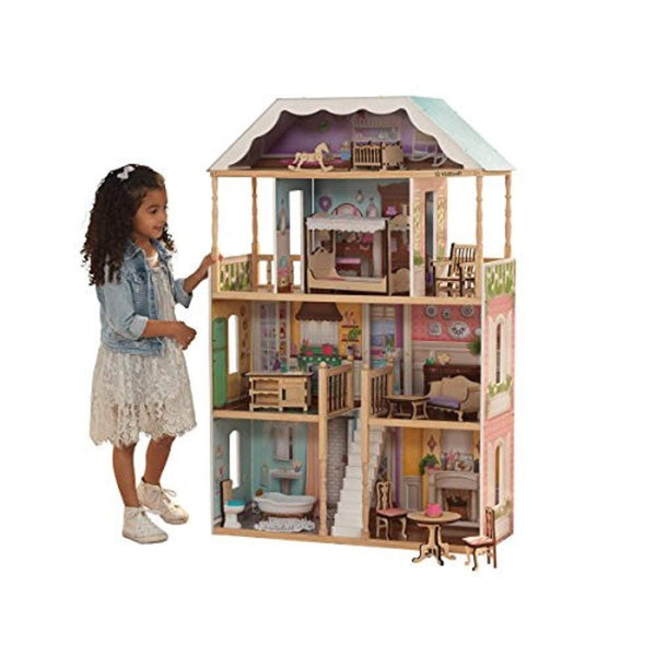 KidKraft Charlotte Dollhouse with EZ Kraft Assembly Review