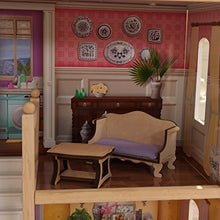 Load image into Gallery viewer, KidKraft 65956 Charlotte Dollhouse with Ez Kraft Assembly Dollhouses, Multicolor