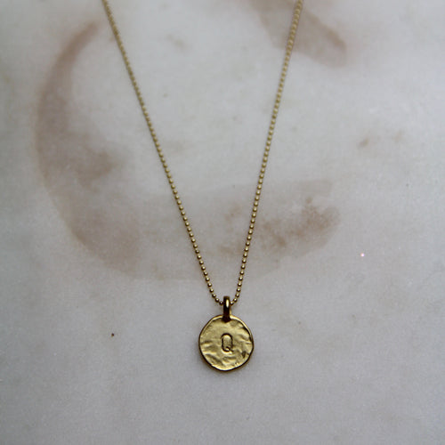 Q Initial Necklace
