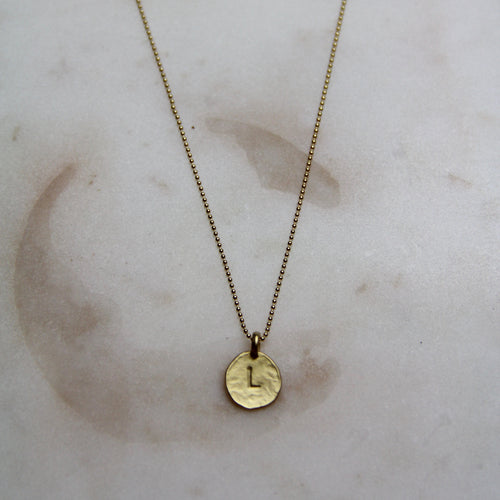 L Initial Necklace