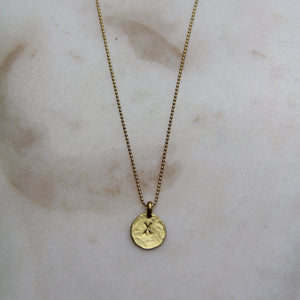 X Initial Necklace