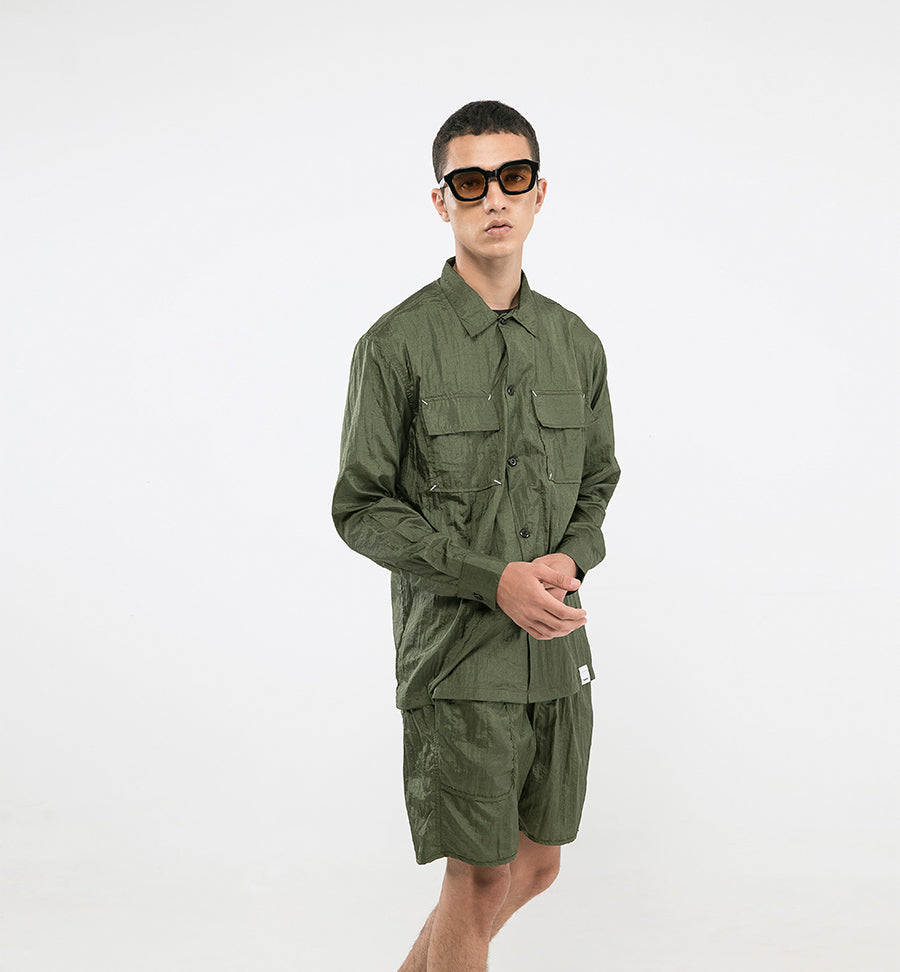 POINT NYLON SHIRTS PRO DARK GREEN