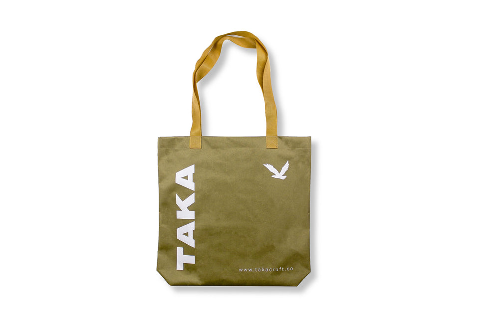 REUSABLE TOTE BAG KHAKI
