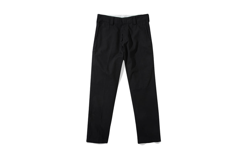 HELVE COTTON PANTS BLACK