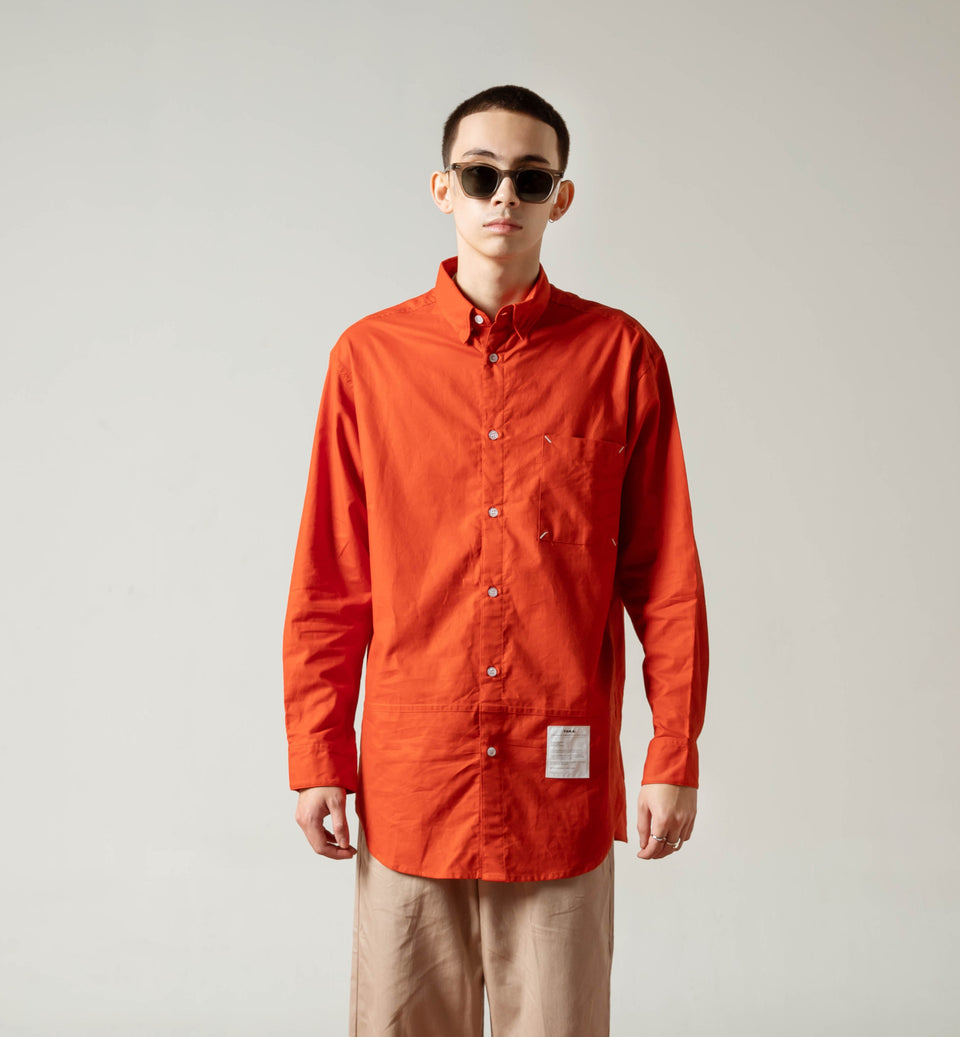 TERA BRICK OVERSIZED SHIRT