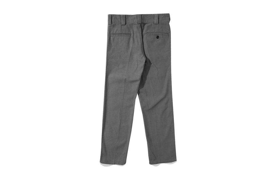HELVE COTTON PANTS GREY