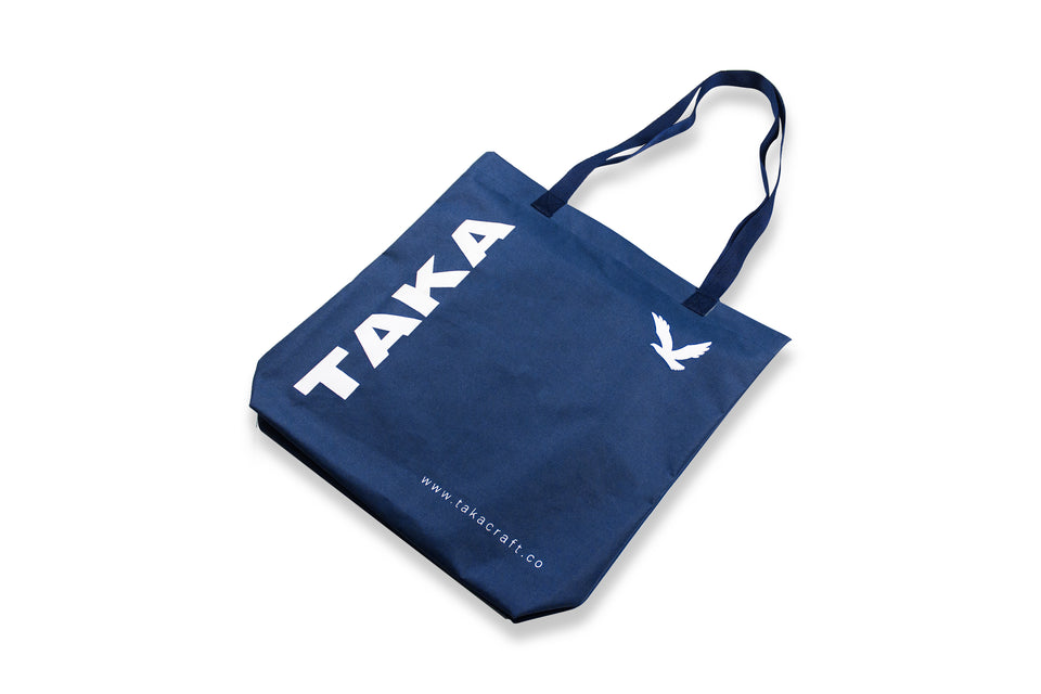 REUSABLE TOTE BAG NAVY