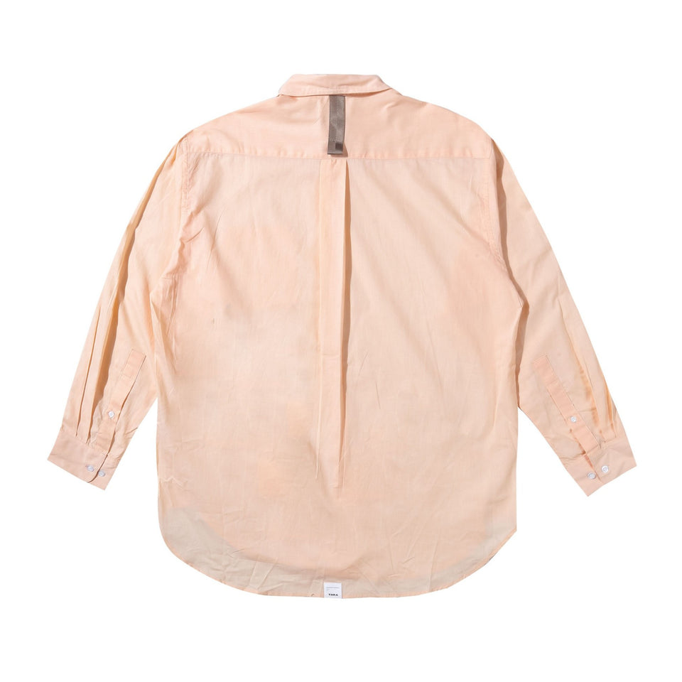 TERA LIGHT PEACH OVERSIZED SHIRT