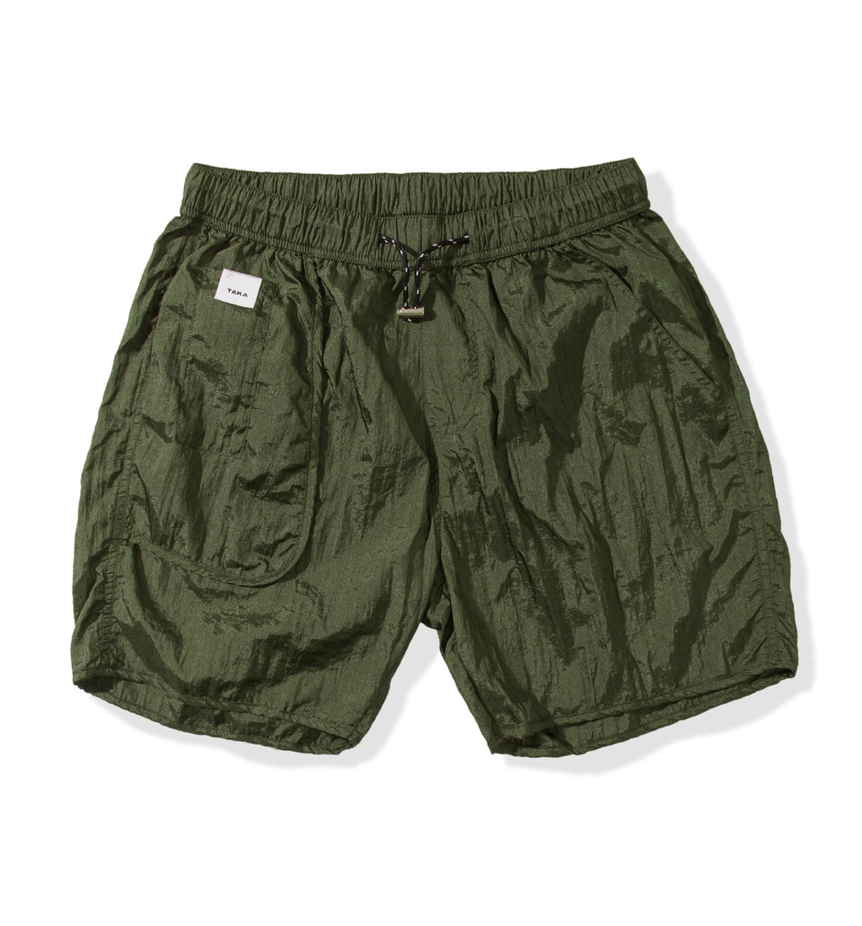 BUGGY NYLON SHORTS PRO DARK GREEN