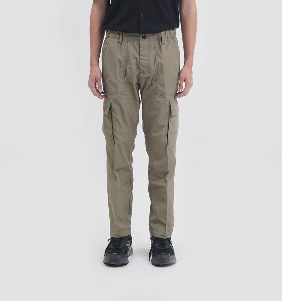 VERTREK CARGO PANTS LIGHT OLIVE
