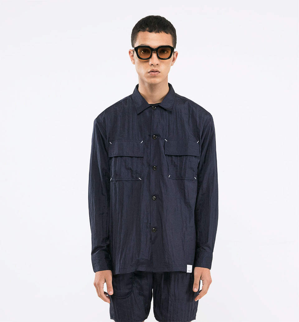 POINT NYLON SHIRTS PRO NAVY