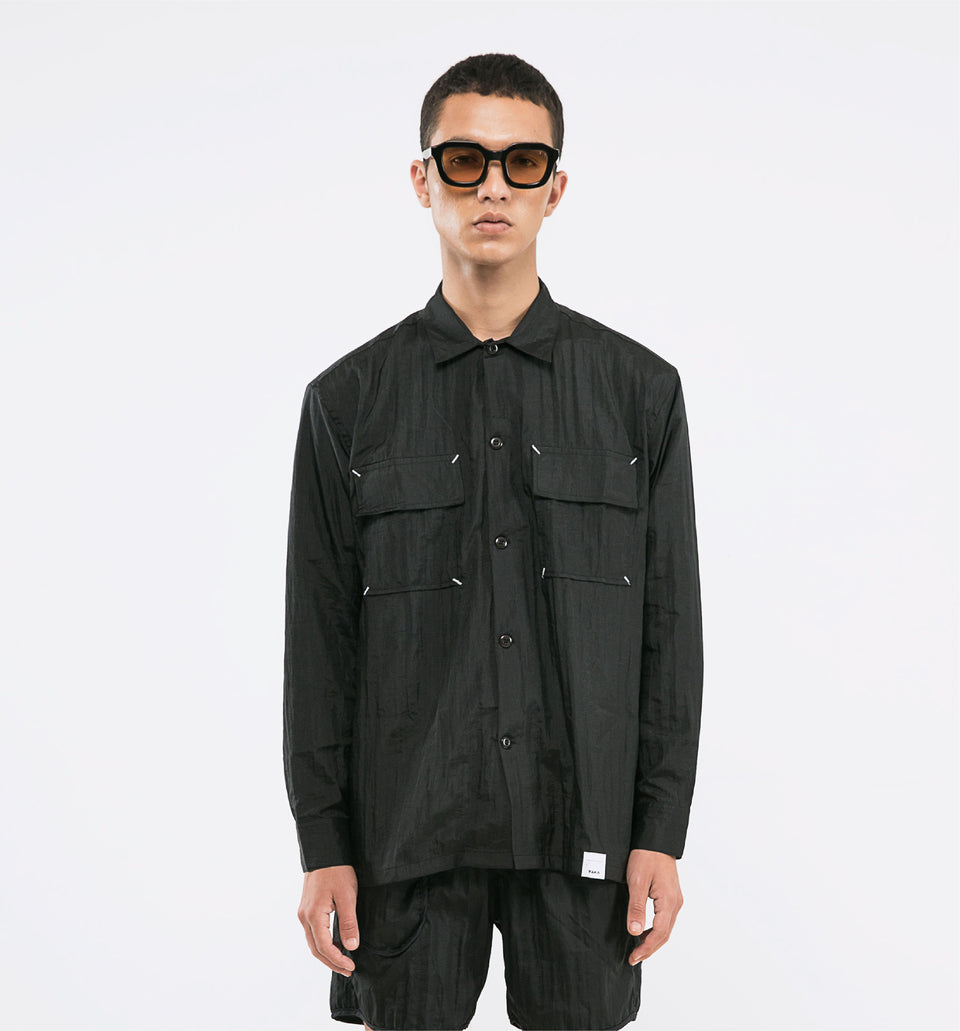 POINT NYLON SHIRTS PRO BLACK