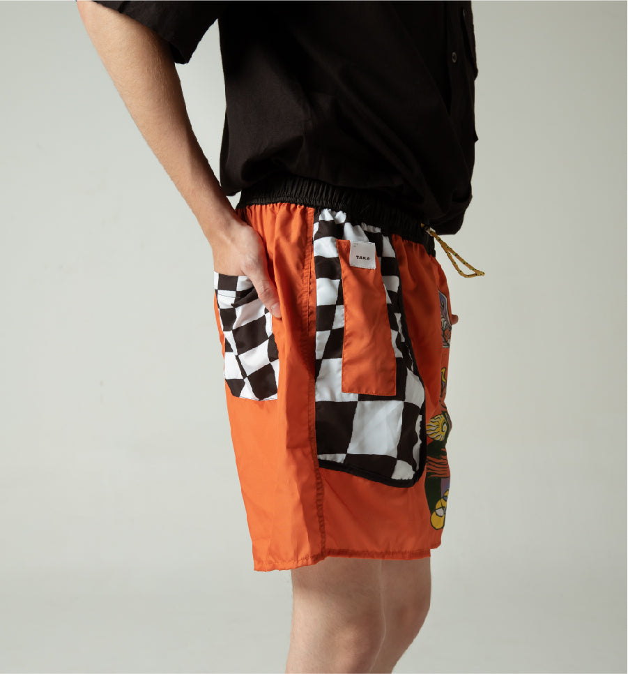 KISMIN BOYS BUGGY NYLON SHORTS BY KUNCIRSV