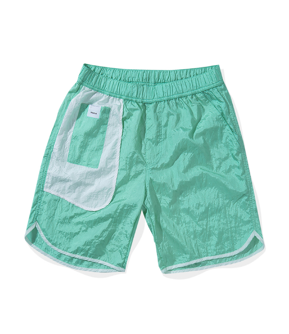 BUGGY NYLON SHORTS MINT