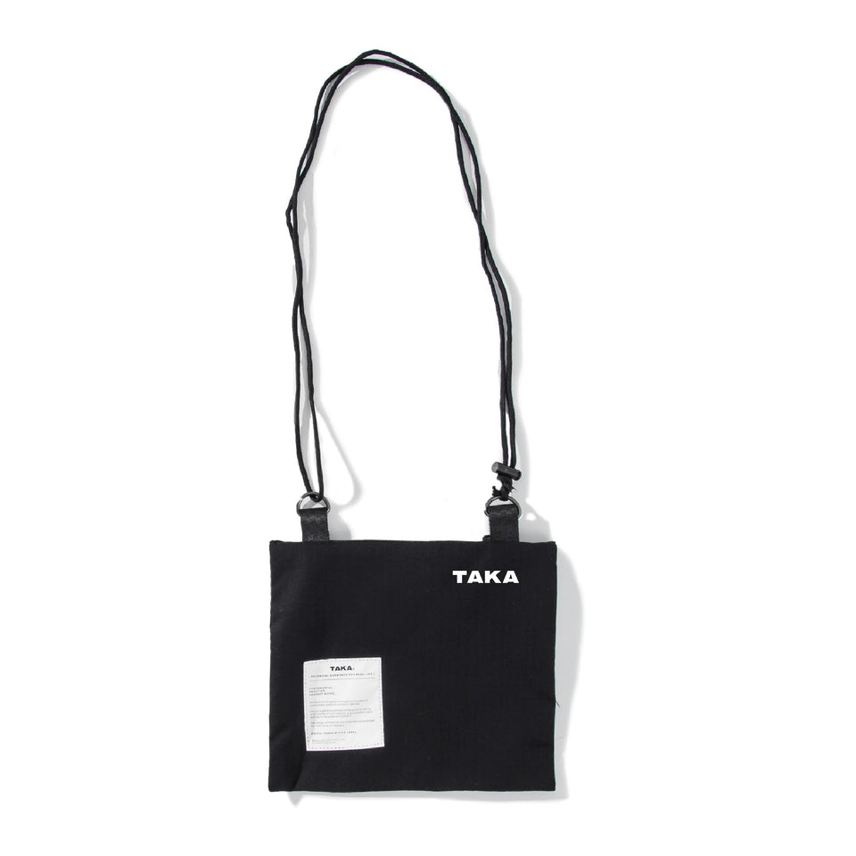 SACOCHE SHOULDER BAG BLACK