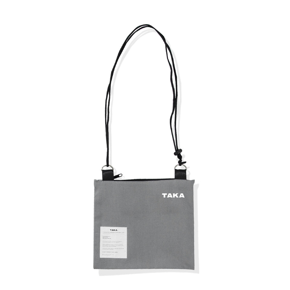 SACOCHE SHOULDER BAG GREY
