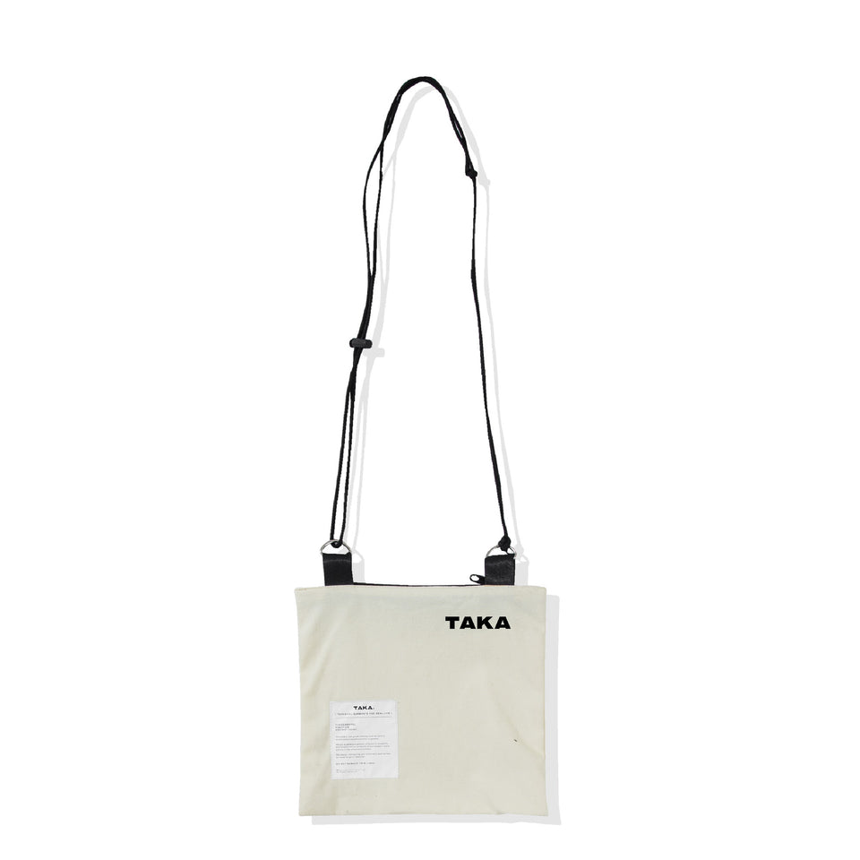 SACOCHE SHOULDER BAG BROKEN WHITE