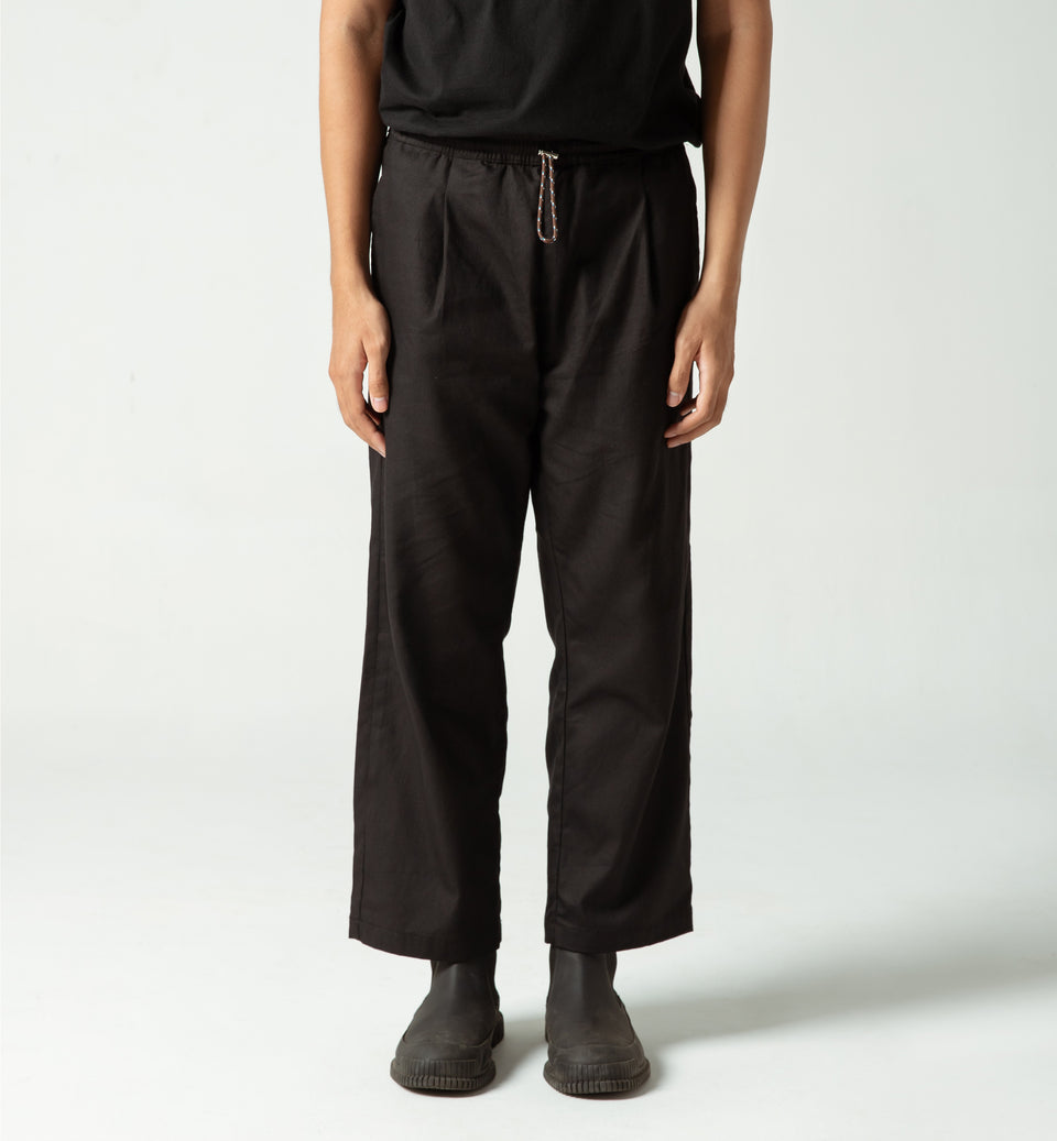 TUNNEL PANTS BLACK