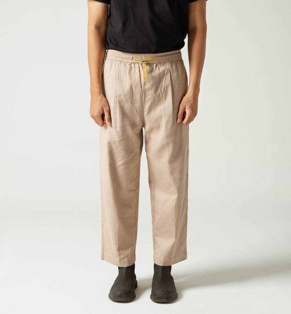 TUNNEL PANTS KHAKI
