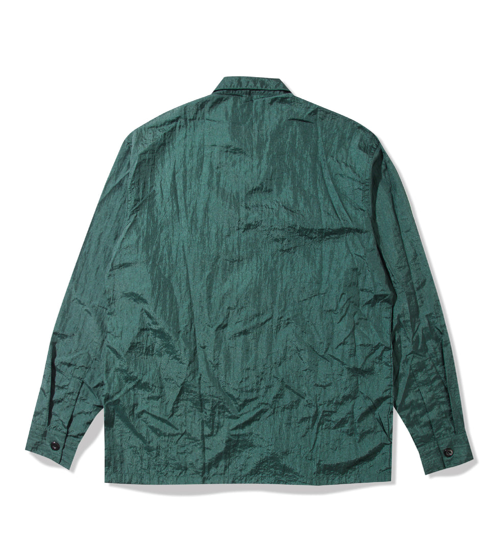 POINT NYLON SHIRTS BOTTLE GREEN