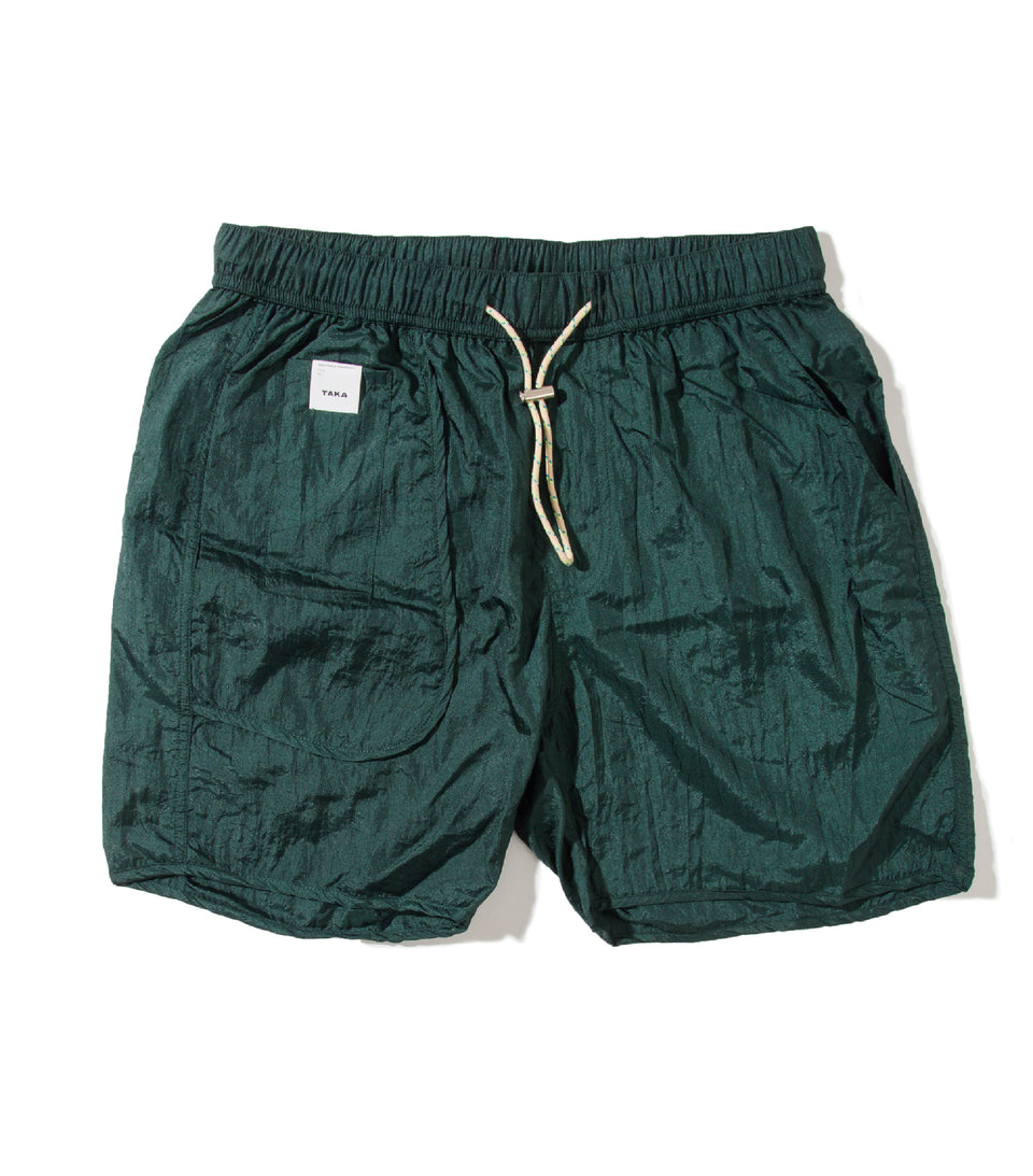 BUGGY NYLON SHORTS PRO BOTTLE GREEN