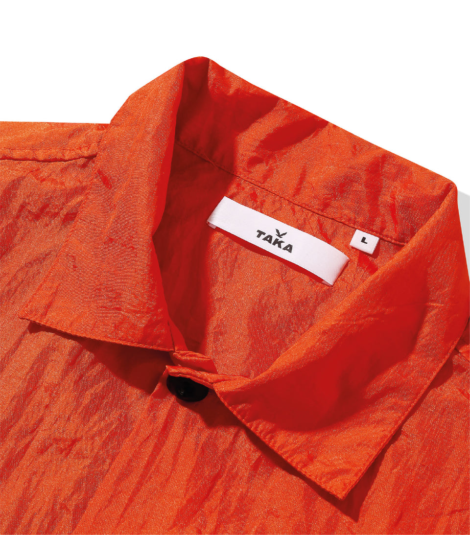 POINT NYLON SHIRTS TANGERINE ORANGE