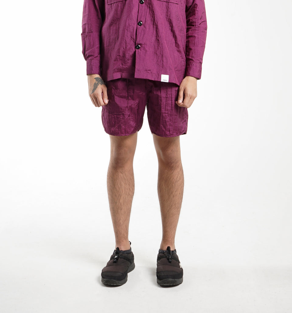 BUGGY NYLON SHORTS PRO BURGUNDY