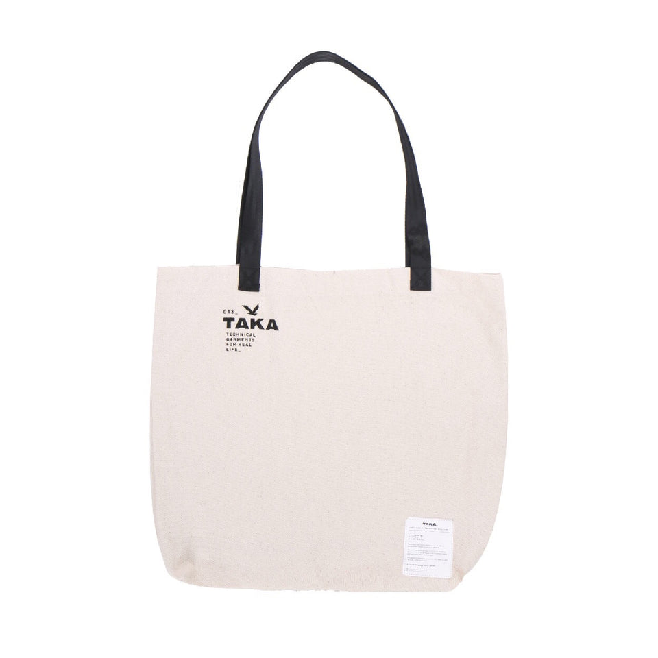 TOTE BAG LOGO BROKEN WHITE