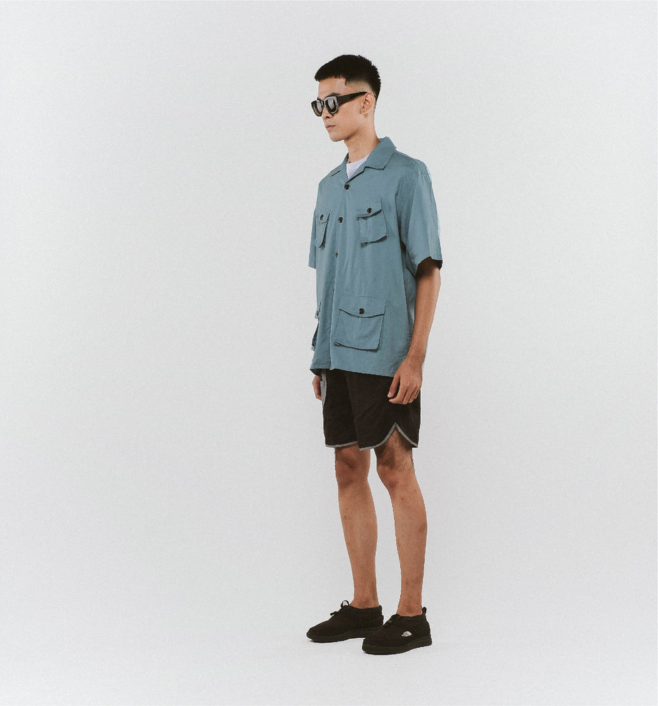 CAMP FOUR-POCKET SHIRTS HERITAGE BLUE