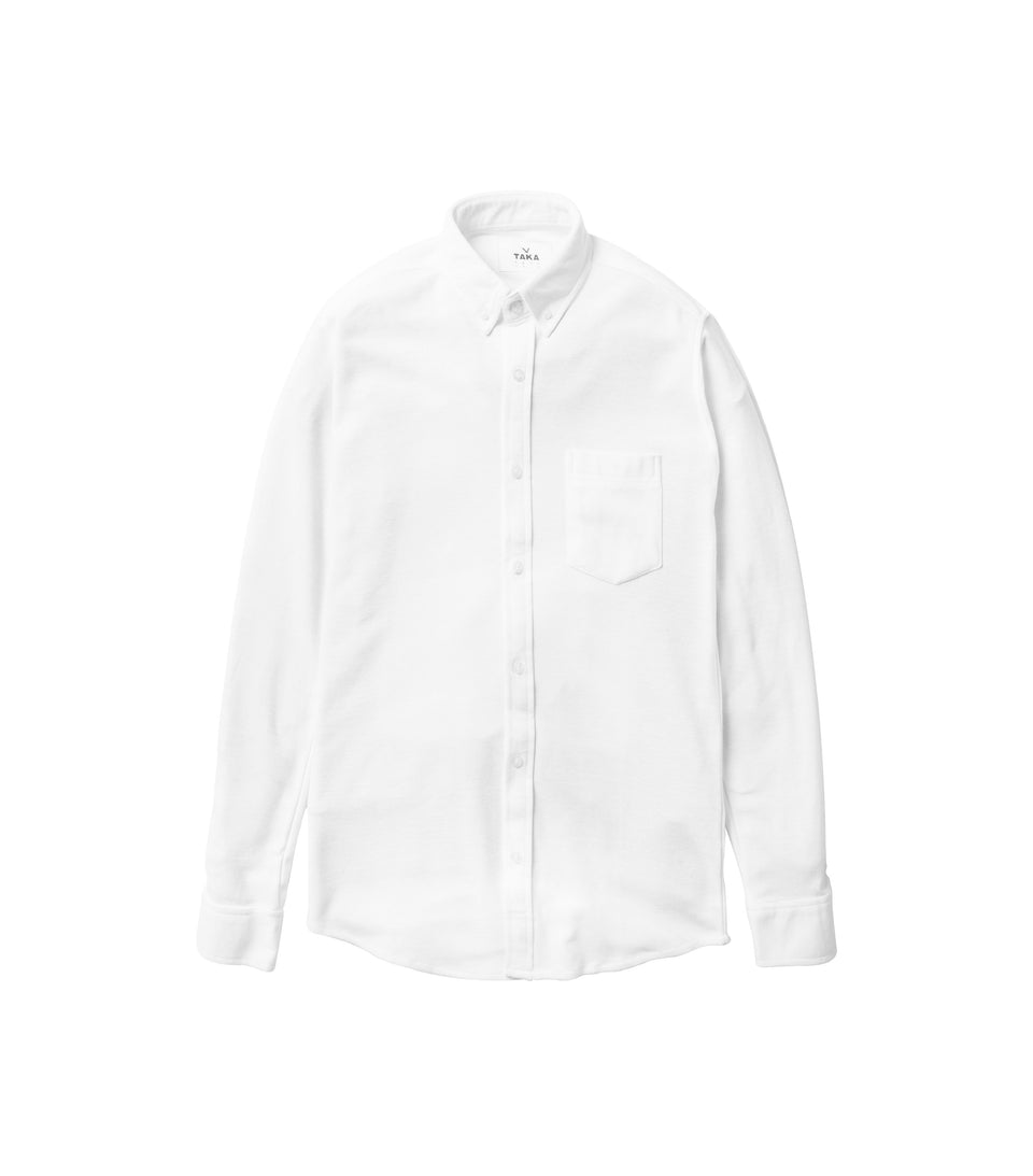 PQ CLASSIC LONG SLEEVE WHITE