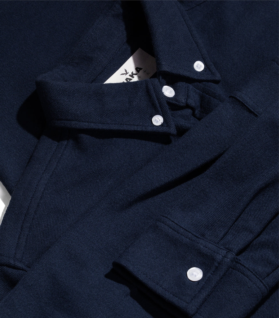 PQ CLASSIC LONG SLEEVE NAVY